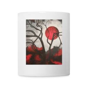 Red Moon Mug - Coffee/Tea Mug