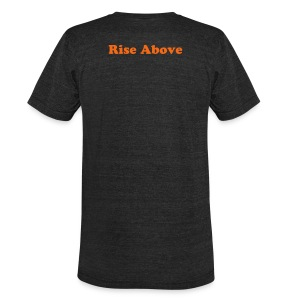 Rise Above Phoenix Vintage Tee - Unisex Tri-Blend T-Shirt by American Apparel