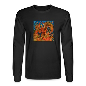 Rise Above Phoenix Long Sleeve Tee - Men's Long Sleeve T-Shirt