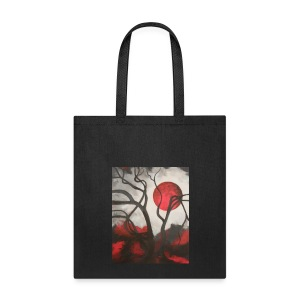 Red Moon Tote - Tote Bag