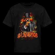 Kids' Shirts ~ Kids' T-Shirt ~ #LAVAMOB Kids [M]
