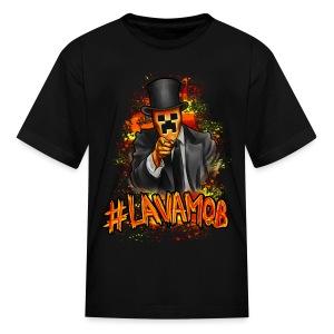 #LAVAMOB Kids [M] - Kids' T-Shirt