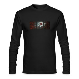 Red Moon Long Sleeve Tee - Men's Long Sleeve T-Shirt by Next Level