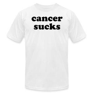 Cancer Sucks- Men  - Men's Fine Jersey T-Shirt