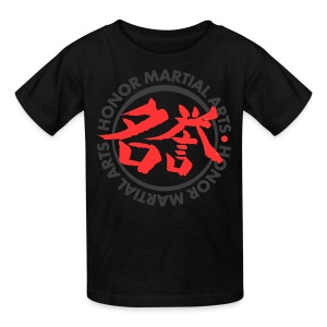 Kids' T-Shirt - Honor Martial Arts Design for Dark Shirts