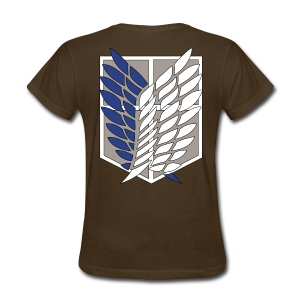Attack On Titans - Survey Corps - Women's T-Shirt