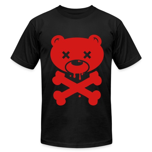 RedBear and Crossbones - Men's Fine Jersey T-Shirt