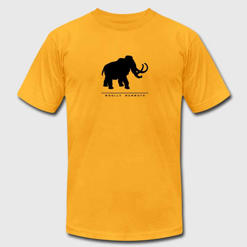 Prehistoric Giants: Wholly Mammoth T-Shirts - Men's T-Shirt by American Apparel