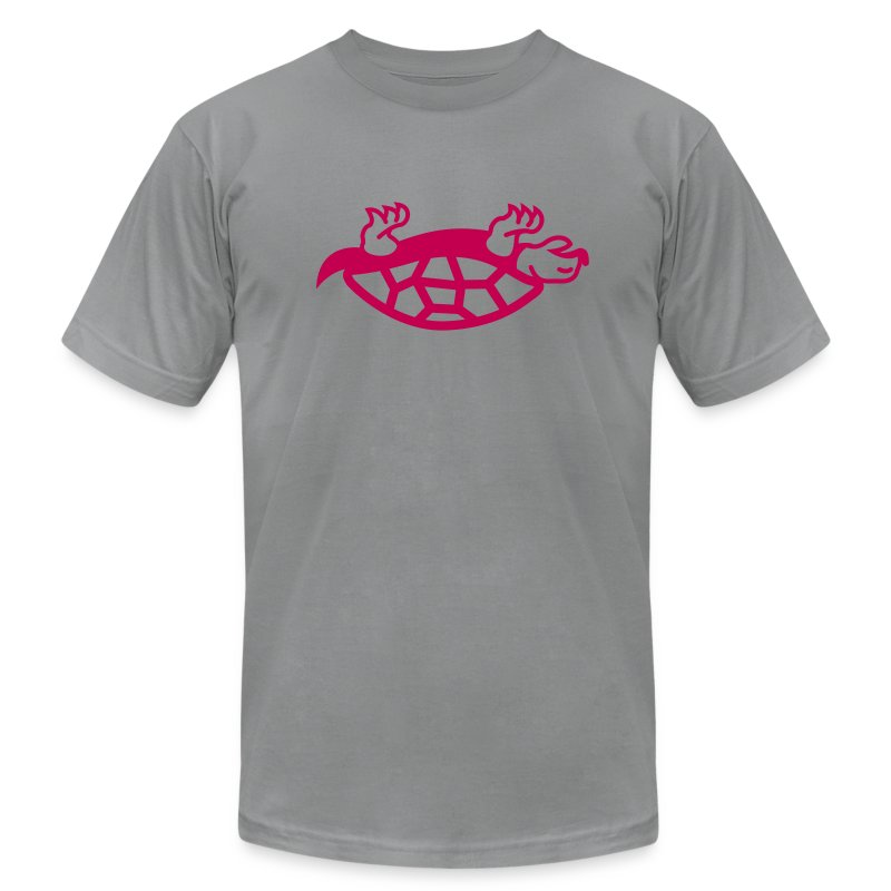 dead turtle - Men's T-Shirt by American Apparel