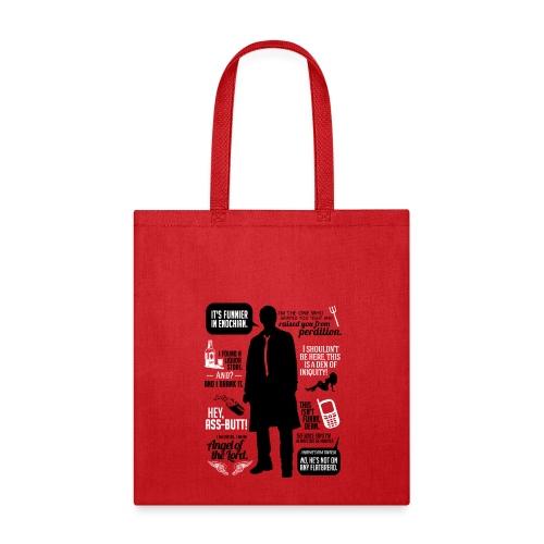 Castiel Quotes - Tote Bag