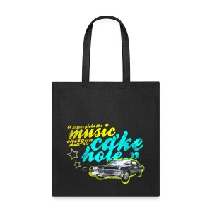Driver Picks the Music - Tote Bag