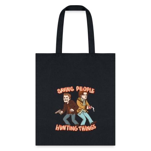 Saving People, Hunting Things - Tote Bag