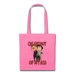 Cas, Get Out of My Ass - Tote Bag