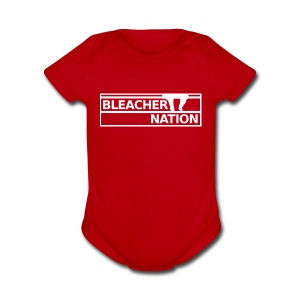Baby - Bleacher Nation Logo - Short Sleeve Baby Bodysuit