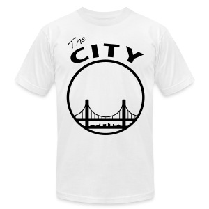 The City - Men's T-Shirt by American Apparel