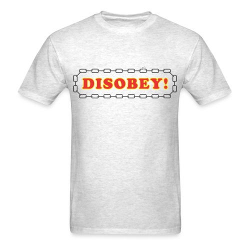 Disobey logo - Men's T-Shirt