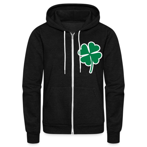 Lucky Irish - Unisex Fleece Zip Hoodie