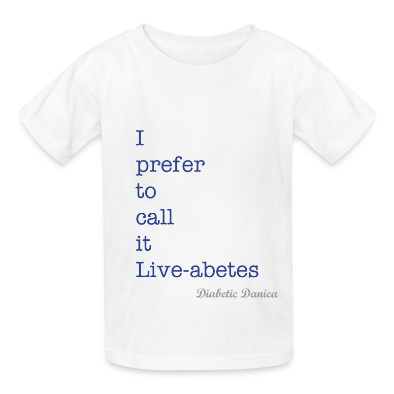 Liveabetes - Kid's  - Kids' T-Shirt