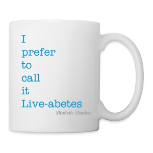 Liveabetes Mug - Coffee/Tea Mug