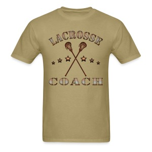 Lacrosse Coach Steampunk T-Shirt - Men's T-Shirt