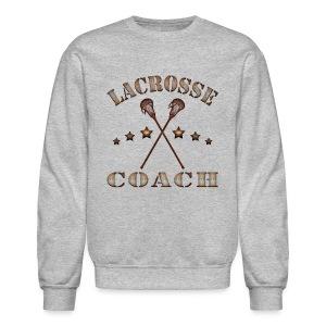 Lacrosse Coach Steampunk T-Shirt - Crewneck Sweatshirt