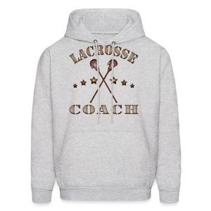 Lacrosse Coach Steampunk Hoodie - Men's Hoodie