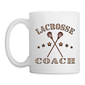 Lacrosse Coach Steampunk Mug - Coffee/Tea Mug