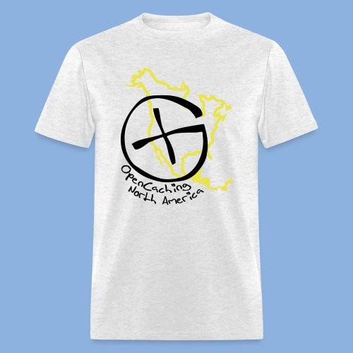 OCNA Logo Gray Men's Lightweight T-Shirt - Men's T-Shirt