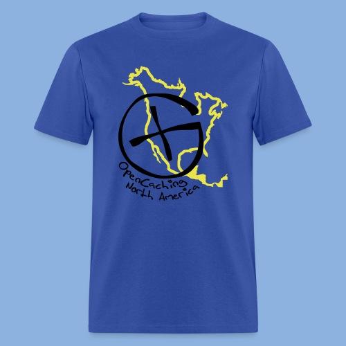 OCNA Logo Navy Men's Lightweight T-Shirt - Men's T-Shirt