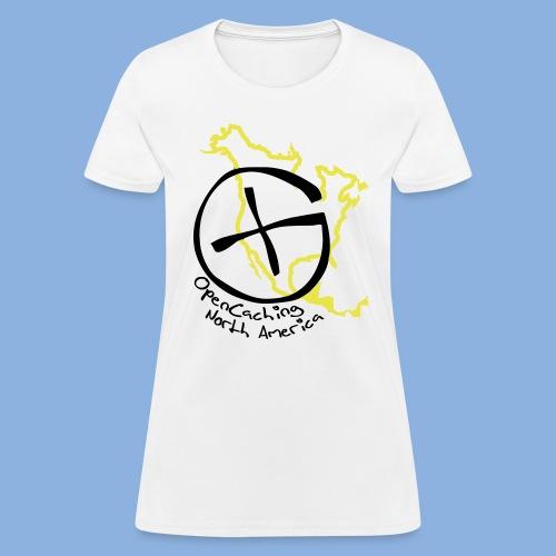 OCNA Logo White Women's T-Shirt - Women's T-Shirt