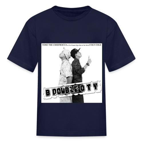 Children - B. Double O. T. Y. Single - Kids' T-Shirt