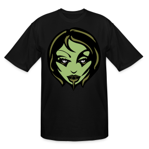 Zombie Girl Halloween T-shirt Mens' Plus Size Shirts - Men's Tall T-Shirt