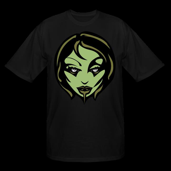 Zombie Girl Halloween T-shirt Mens' Plus Size Shirts