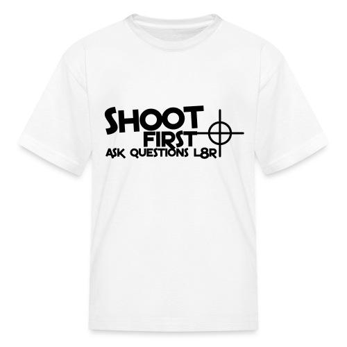 Ask l8r - Kids' T-Shirt