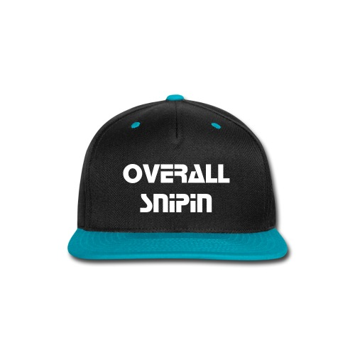 Snap-back Baseball Cap - Pick up the official Snap Back Hat from Overall Apparel Today.