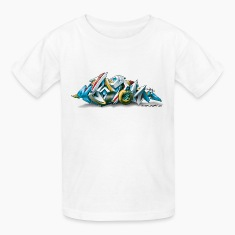 New York Graffiti - 3D Style - Children's T-Shirt