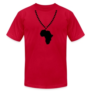 Africa Beads - Wild Rainbow Safaris - Men's Fine Jersey T-Shirt