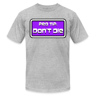 T-Shirts ~ Men's T-Shirt by American Apparel ~ *NEW* Pro Tip