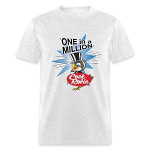Cock Robin One in a Million! Men's Tee - Men's T-Shirt
