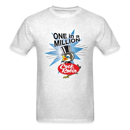 Cock Robin One in a Million! Men's Tee - Men's T-Shirt
