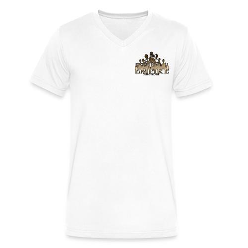 Men's V-Neck T-Shirt by Canvas - tom brady,team,reo,noah,kdz,gaming,fgc,esports,Triforce,Empire Arcadia