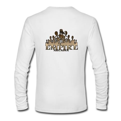 Men's Long Sleeve T-Shirt by Next Level - tom brady,team,reo,noah,kdz,gaming,fgc,esports,Triforce,Empire Arcadia