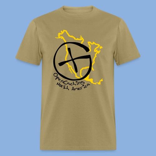 OCNA Log Khaki Men's Lightweight T-Shirt - Men's T-Shirt