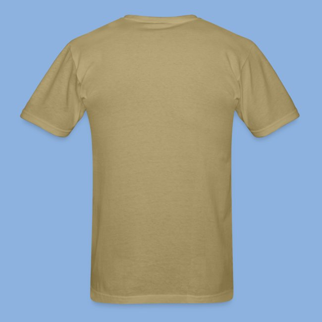 OCNA Log Khaki Men's Lightweight T-Shirt