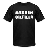 T-Shirts ~ Men's T-Shirt by American Apparel ~ Bakken Oilfield
