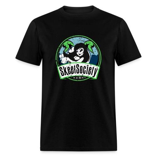 Skeet Society Black - Men's T-Shirt