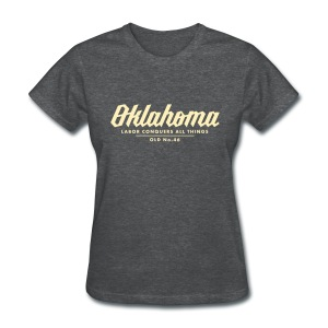 Oklahoma Works - Ladies - Heather Grey - Women's T-Shirt