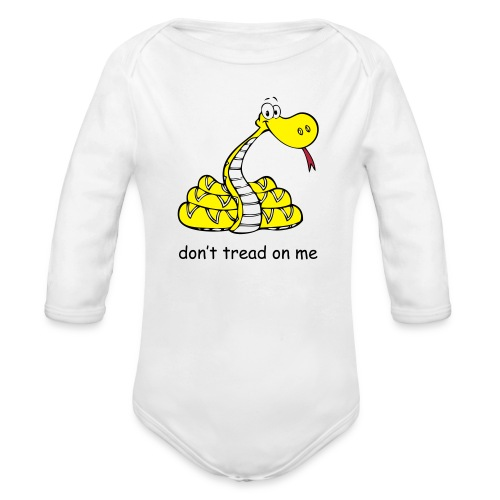 DTOM Baby long sleeve - Organic Long Sleeve Baby Bodysuit