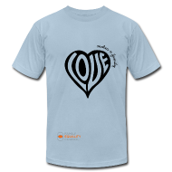 T-Shirts ~ Men's T-Shirt by American Apparel ~ Love Makes a Family - Men's