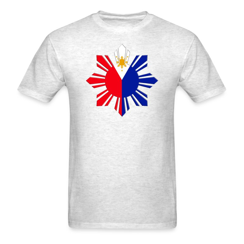 Pinoy sun flag t shirt spreadshirt for Philippines t shirt design